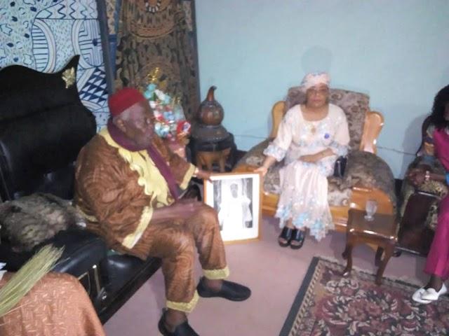 Aminatou Ahidjo Dares the Lion in its Den, Campaigns for Biya in Bamenda
