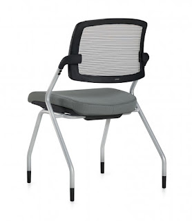 Global Spritz Side Chair with Flip Up Seat
