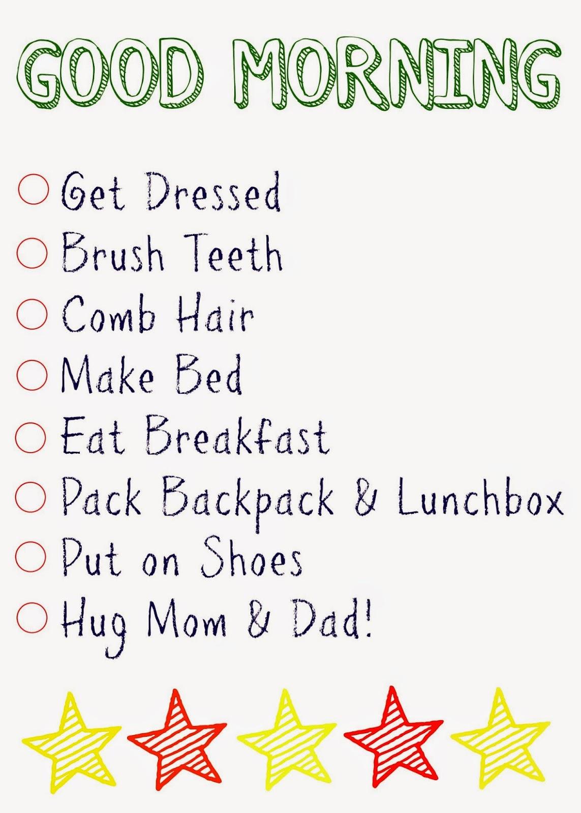 Kindergarten And Mooneyisms Checklist 2