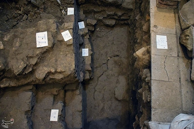 Tehran's first fortification unearthed in Grand Bazaar