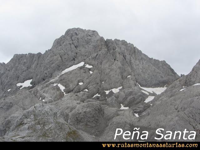 Ruta Pan de Carmen, Torre de Enmedio: Peña Santa de Castilla