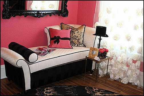 Decorating theme bedrooms - Maries Manor: Paris style Pink ...