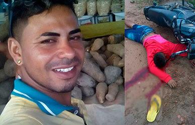 Jovem é morto a tiros em povoado de Malhador