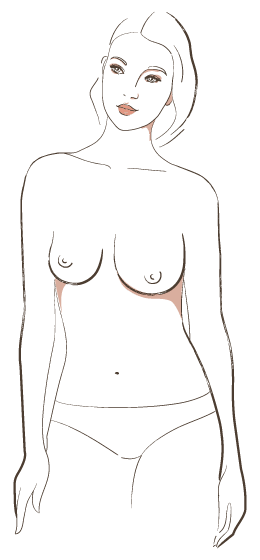 7 Types of Women's Breasts, Which One Do You Belong To?