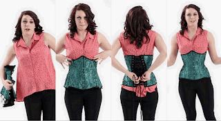 как правильно одеть корсет