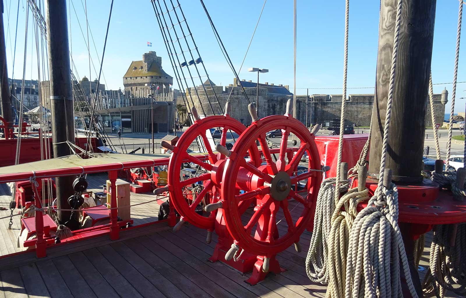 City Guide Saint Malo etoile du roy