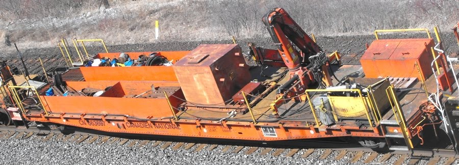 Trackside Treasure: CN Continuous Welded Rail Train