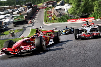 Cyber sport racing F1