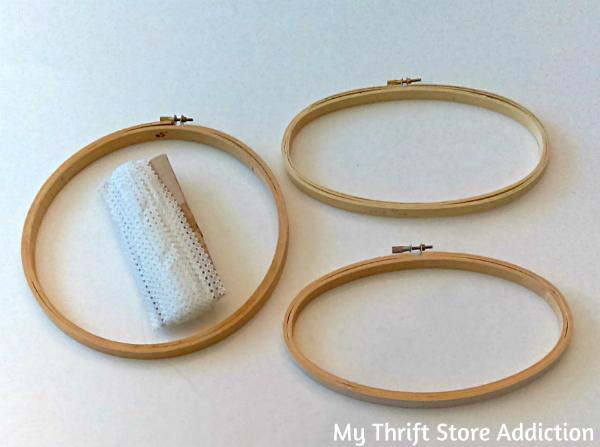 thrift store craft supplies