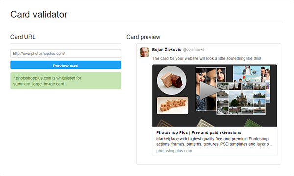 How to Add Twitter Cards to Muse Site