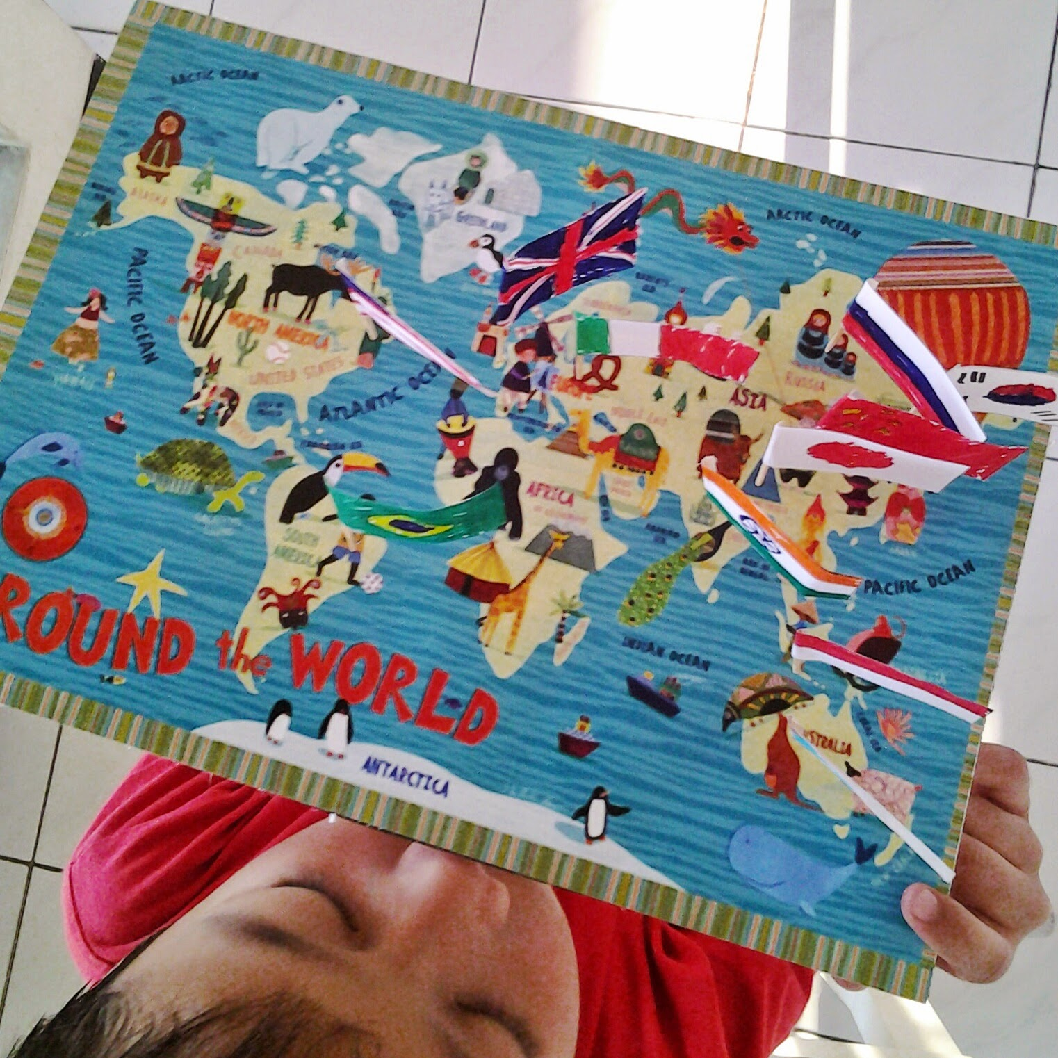 belajar mengenal atlas dunia