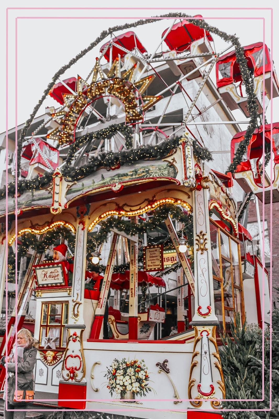 Cologne Germany Christmas Ferris Wheel