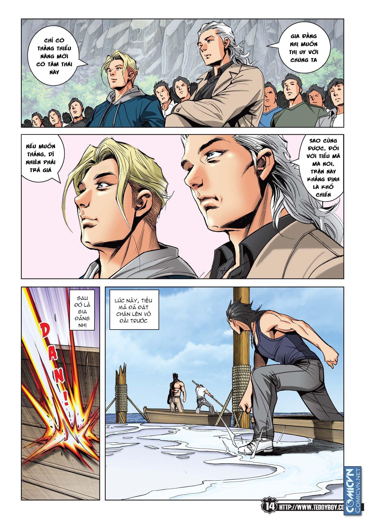 Người Trong Giang Hồ chapter 2148: tiểu mã vs gia đằng nhị trang 12