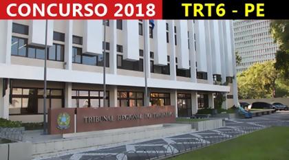 Apostila Concurso TRT 6ª região PE 2018