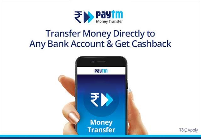 Paytm – Get upto Rs 1000 Cashback on Transactions via Paytm UPI