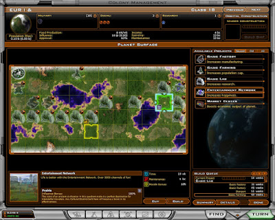Galactic Civilizations 2: Dark Avatar Game Screenshot 2007