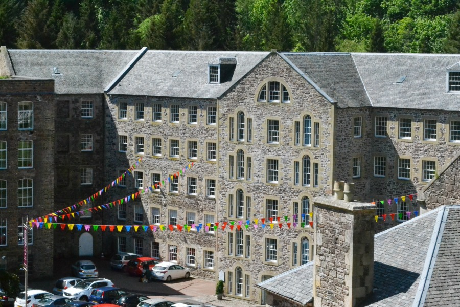 buildings mill bunting lanimer week new lanark heritage site scotland