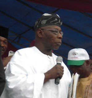 REVEALED: Obasanjo's Mission At PDP C'ttee Inauguration Venue, All What Transpired Detailed Here
