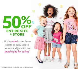 Carters Baby Clothes Extra Discount 50 Off Entire Site Store