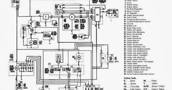 wiring diagram lampu satria fu