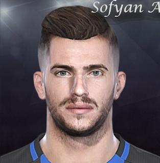 PES 2018 Davide Santon Face By Sofyan Andri