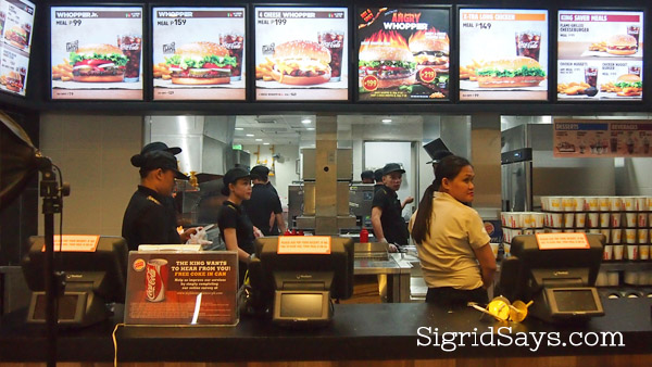 Burger King Bacolod