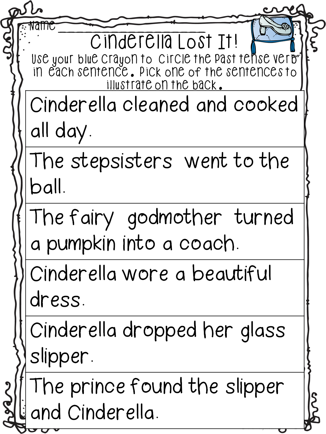 First Grade Wow A Little Pumpkin And Nderella S In
