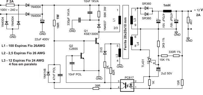 Skema Power Supply S S E