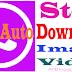 How to Stop WhatsApp Auto Downloading Image, Audio & Video