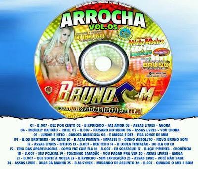 Cd Arrocha vol.05 Bruno Som downloads grátis 13/05/2016