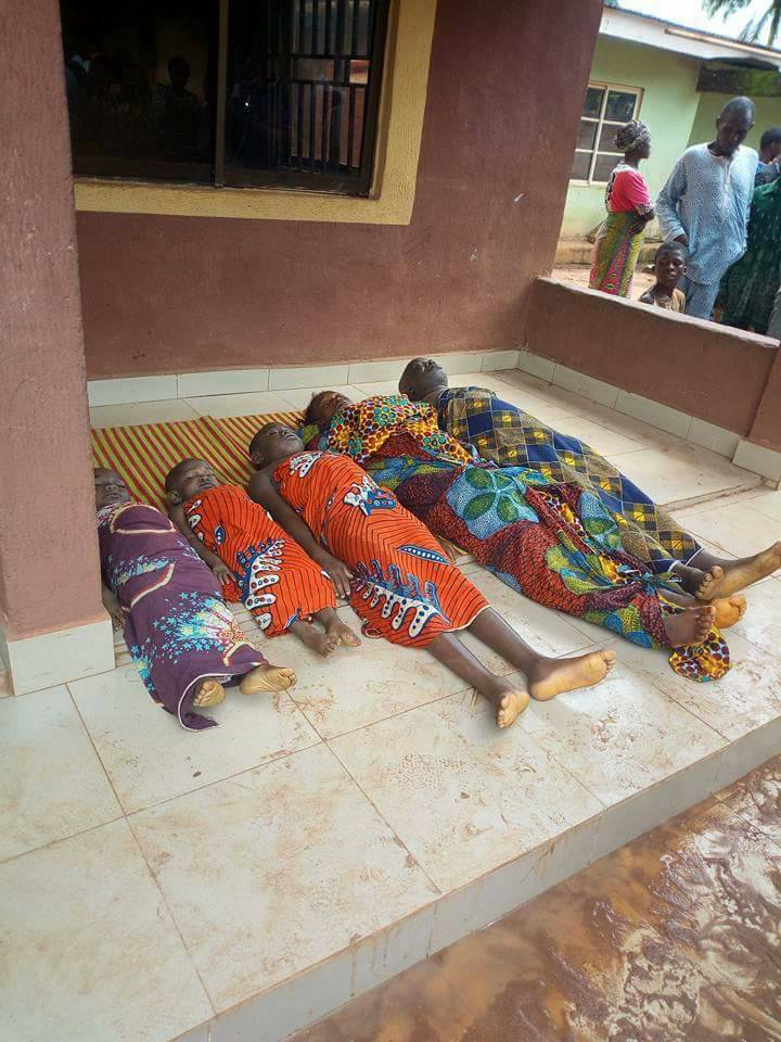 [GRAPHIC PHOTOS] Food Poison Killed 5 In Anambra
