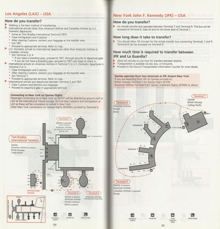 Airline memorabilia: Qantas (1999)