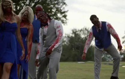 Photos: Couple throw a horror movie-themed wedding in the United States