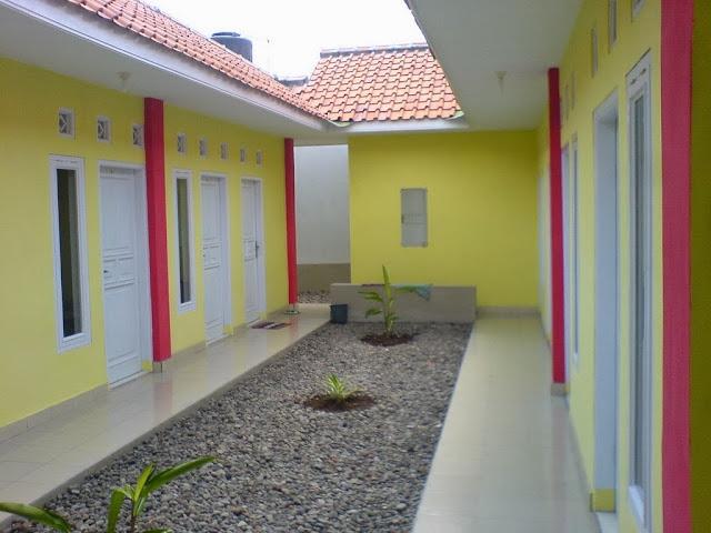 Desain Rumah Kost Murah 1 Lantai