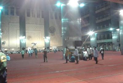 Sore Ini Peserta Aksi 112 Mulai Berdatangan ke Masjid Istiqlal