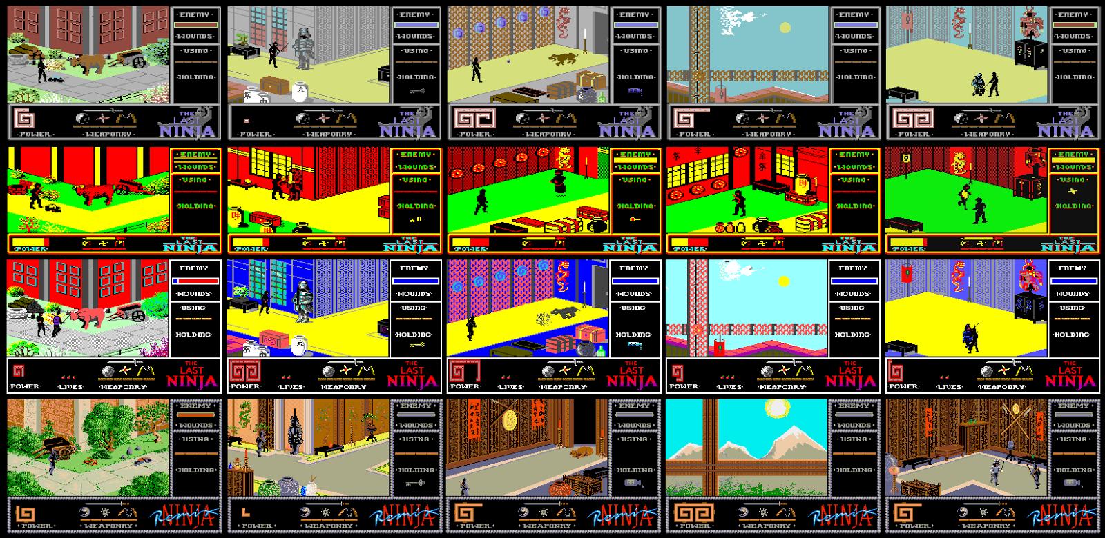 FRGCB - Finnish Retro Game Comparison Blog: The Last Ninja