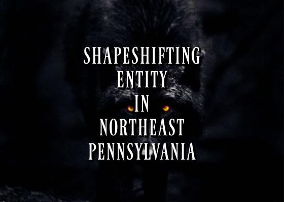 Shapeshifting Entity in Northeast Pennsylvania