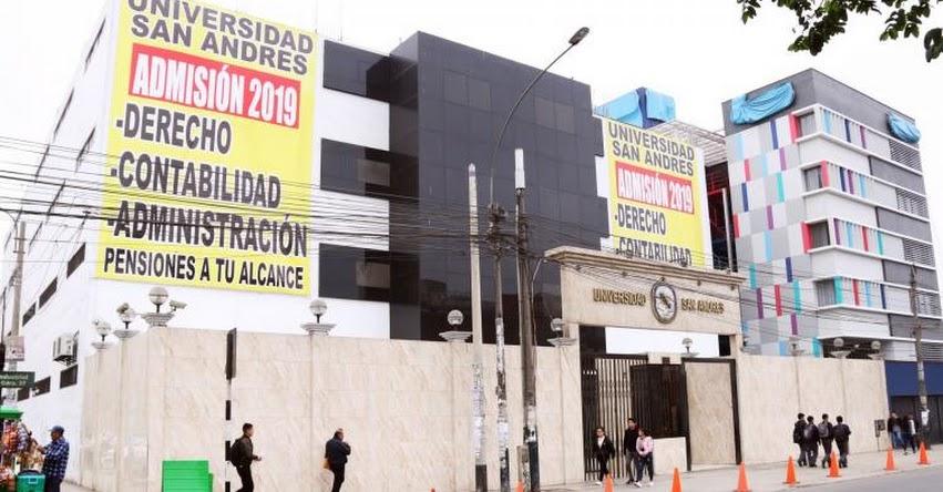 SUNEDU niega licenciamiento a Universidad San Andrés. Deberá cerrar en dos años - www.sunedu.gob.pe