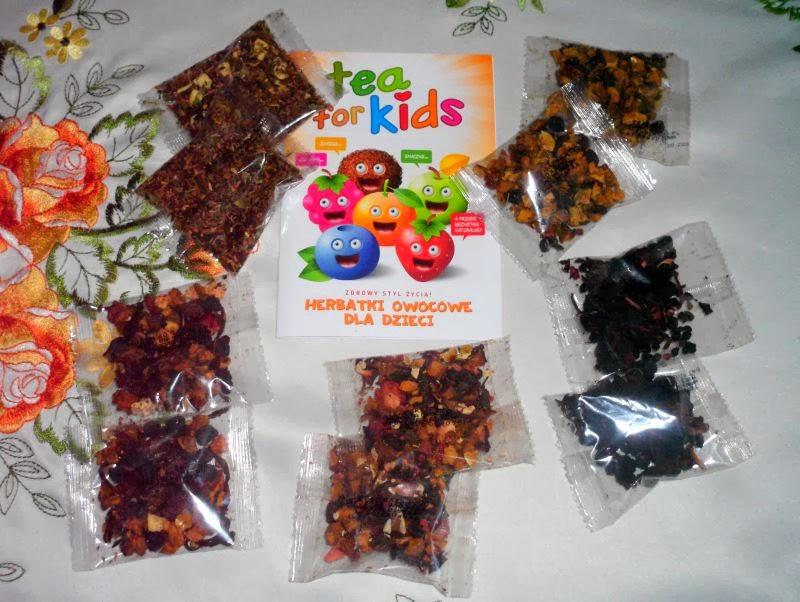 herbata z suszonymi owocami dla dzieci tea for kids