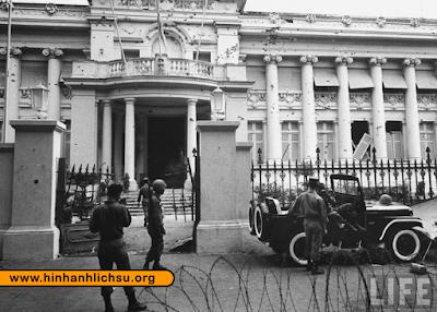 Dinh Gia Long trong cuộc đảo chính năm 1963