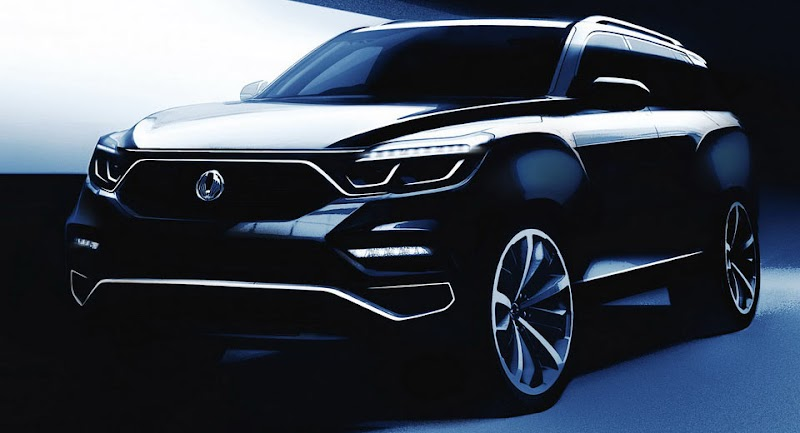 Ssangyong Sheds More Light On New Flagship Ahead Of Its Seoul Debut