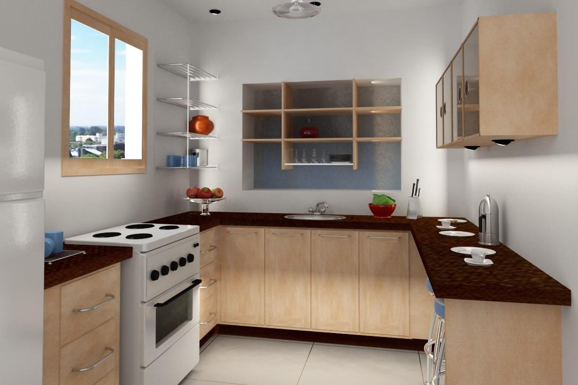 gambar dekorasi dapur sederhana dan murah terbaru