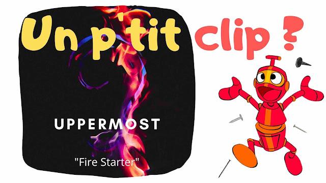 """Le producteur français Uppermost présente son single """"Fire Starter"""", un titre plutot sombre et politique."""