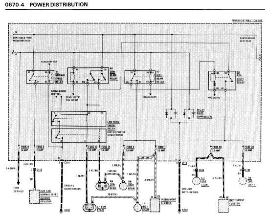 repairmanuals: BMW M3 1990 Electrical Repair