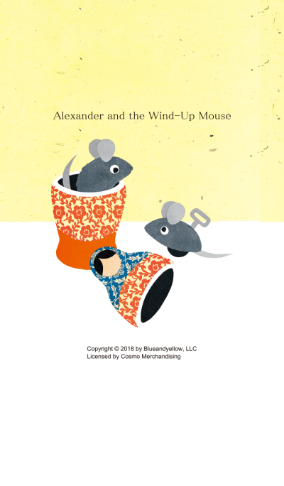 Alexander and the Wind - Up Mouse