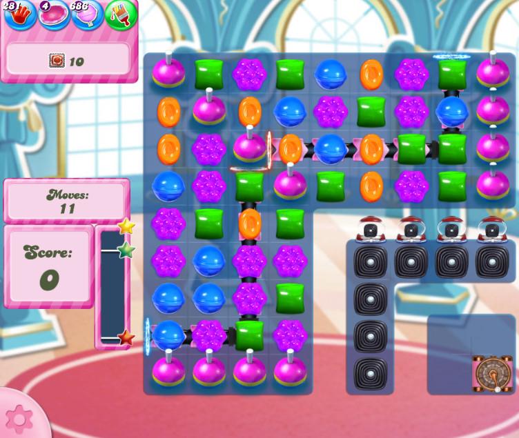Candy Crush Saga level 2741