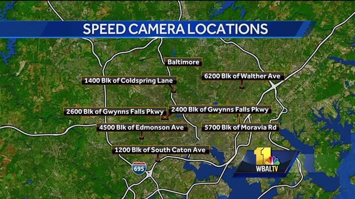 Every ticketing speed camera location on Staten Island in