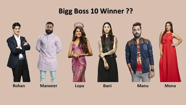 bigg boss 10 winner, finale, finalists