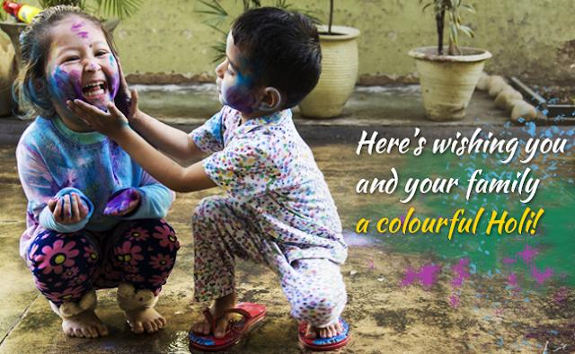 Happy Holi Child Images