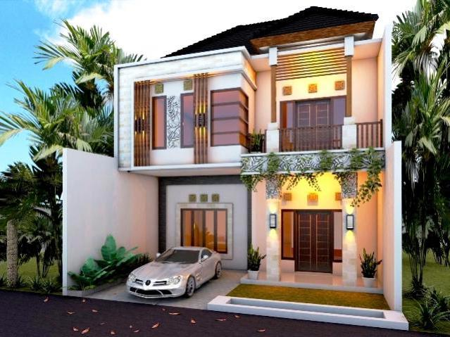 Foto Desain Rumah Minimalis 2 Lantai Mewah